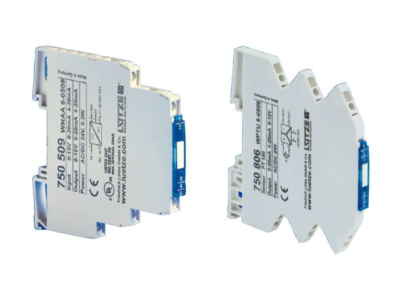 Convertitori di segnale serie Microkon  (analogici e di temperatura)