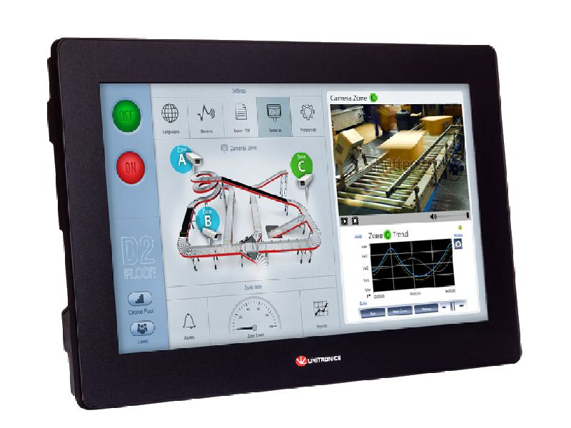 PLC HMI All in One  Serie UniStream Modulare